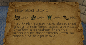 how to empty a warded jar