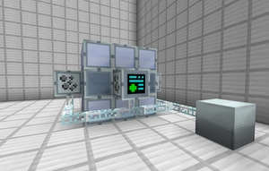 minecraft how to automatlically put water into an industial grinder
