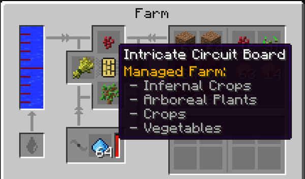 The Intricate Circuit configuration for this farm.