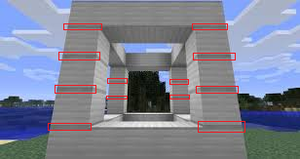 Image Result For Minecraft Build Wall